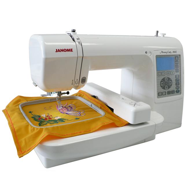promoção de maquinas de costura e bordado